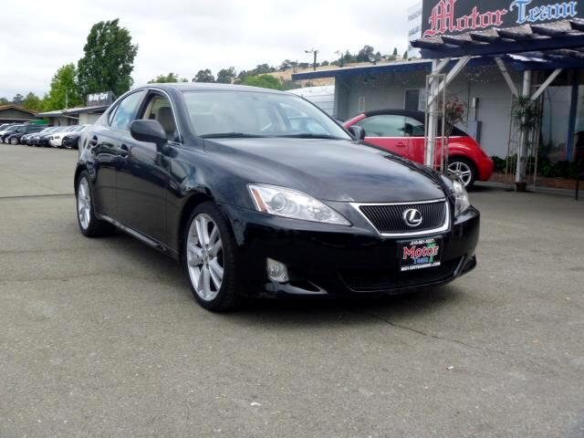 2007 Lexus IS Extended service Plan And Finance Available Please bring this ad with you to get the