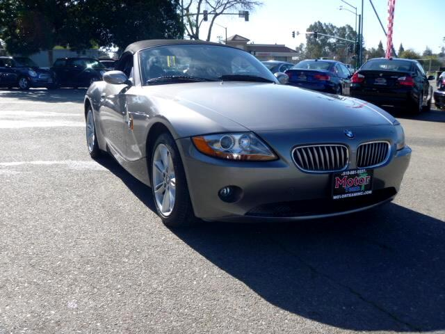 2003 BMW Z4 Extended service Plan And Finance Available Please bring this ad with you to get the pr