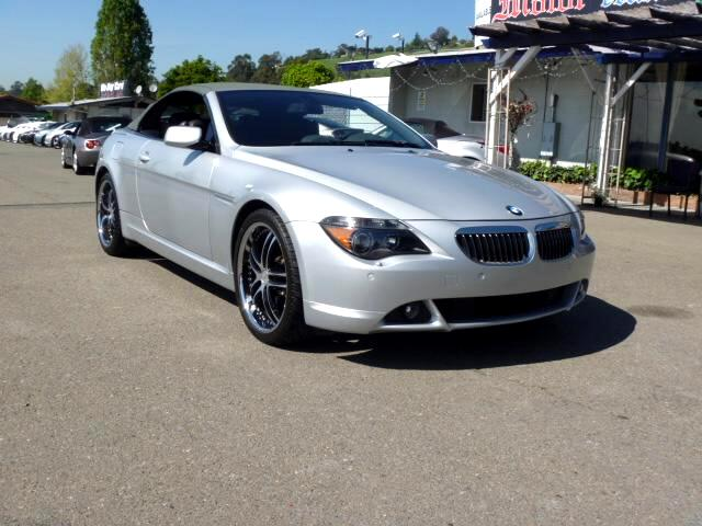 2005 BMW 6-Series Extended service Plan And Finance Available Please bring this ad with you to get