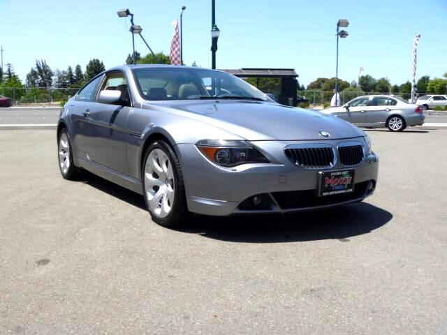 2004 BMW 6-Series Extended service Plan And Finance Available Please bring this ad with you to get