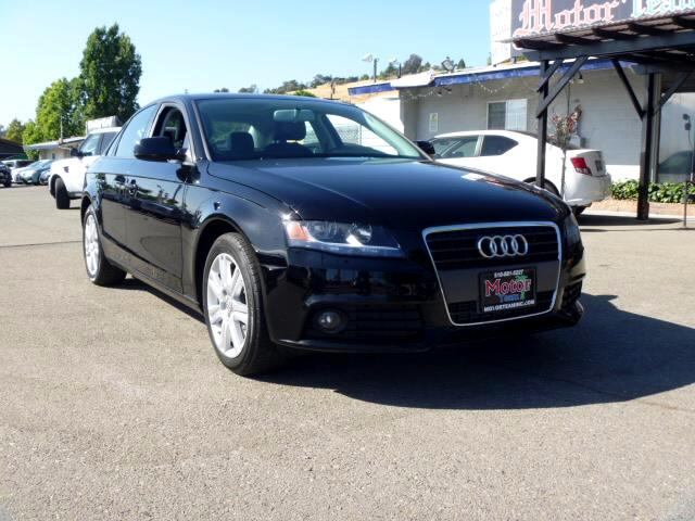 2011 Audi A4 Extended service Plan And Finance Available Please bring this ad with you to get the p