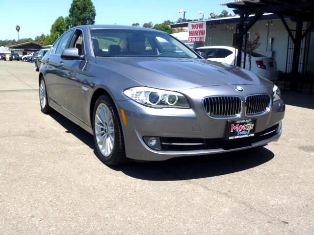 2011 BMW 5-Series Extended service Plan And Finance Available Please bring this ad with you to get