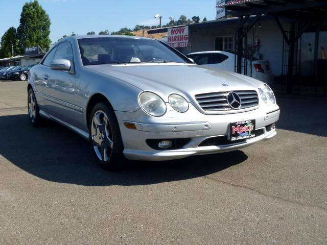 2002 Mercedes CL-Class Extended service Plan And Finance Available Please bring this ad with you to