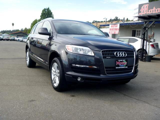 2008 Audi Q7 Extended service Plan And Finance Available Please bring this ad with you to get the p