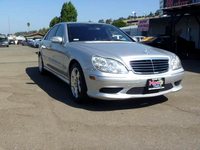 2005 Mercedes S-Class Extended service Plan And Finance Available Please bring this ad with you to