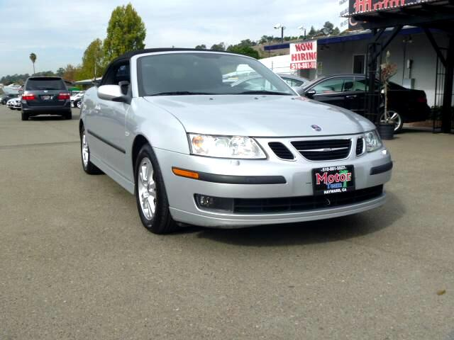 2006 Saab 9-3 Extended service Plan And Finance Available Please bring this ad with you to get the