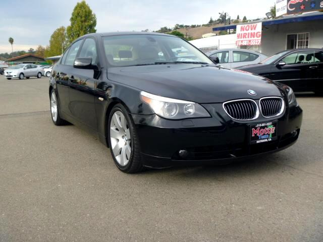 2007 BMW 5-Series Extended service Plan And Finance Available Please bring this ad with you to get