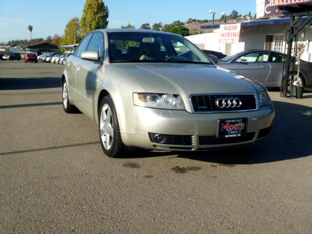 2005 Audi A4 Extended service Plan And Finance Available Please bring this ad with you to get the p