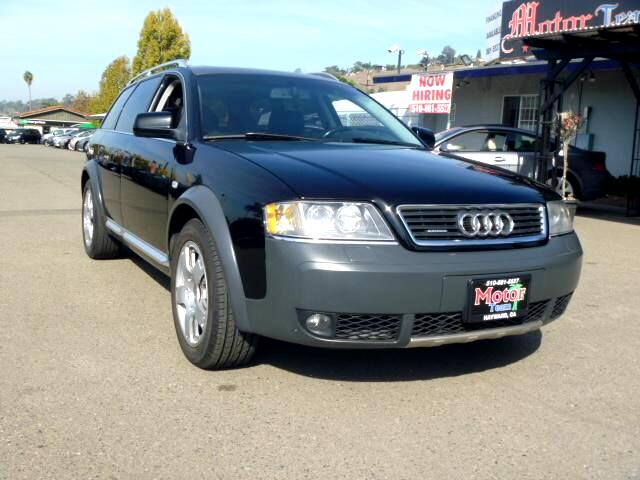 2004 Audi allroad quattro Extended service Plan And Finance Available Please bring this ad with you