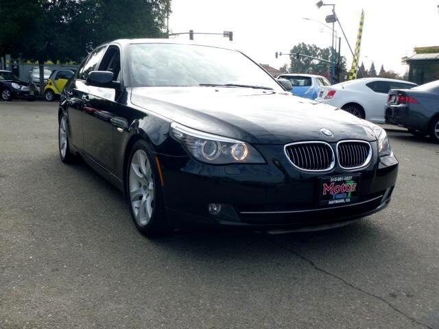 2008 BMW 5-Series Extended service Plan And Finance Available Please bring this ad with you to get