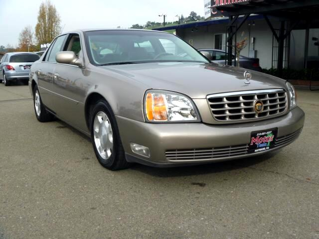 2001 Cadillac DeVille Extended service Plan And Finance Available Please bring this ad with you to