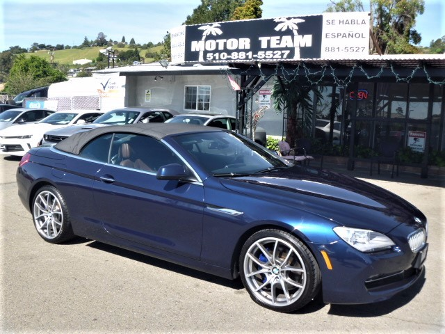 2013 BMW 6-Series 650i Convertible