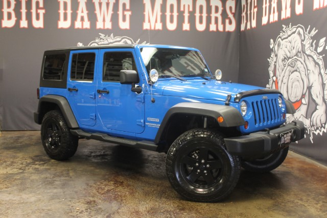 2012 Jeep Wrangler Unlimited Sport 4WD LIFTED