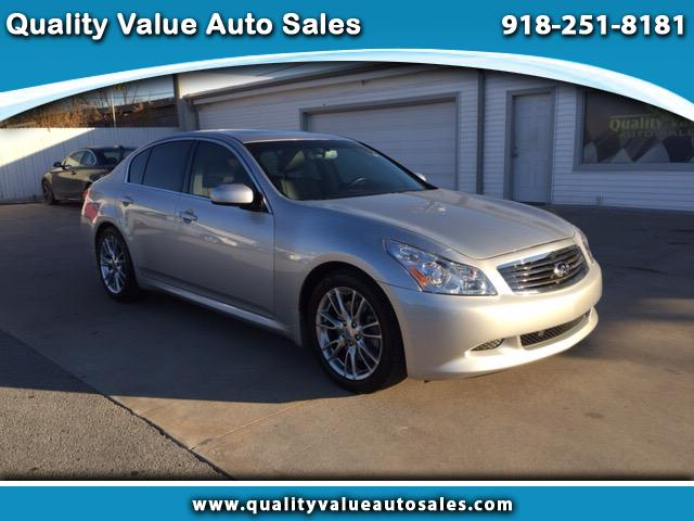 2008 Infiniti G35 Sport Sedan with Leather