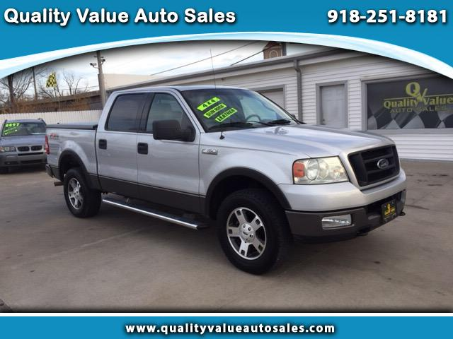 2004 Ford F-150 4WD SuperCrew FX4