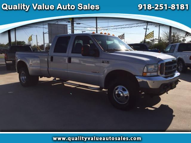 2003 Ford F-350 SD XLT Crew Cab Long Bed DRW 4WD
