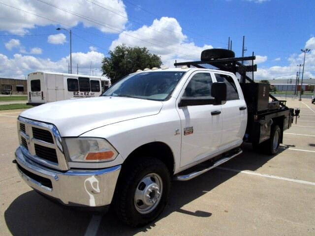 2011 Dodge Ram 3500 Crew Cab Flat Bed 4WD