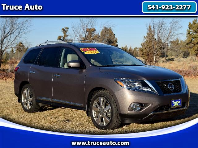 2014 Nissan Pathfinder Platinum Edition Low Miles and One Owner