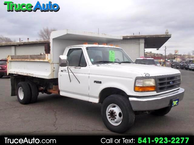 1995 Ford F-450 SD Regular Cab 2WD DRW Dump Truck LOW MILES