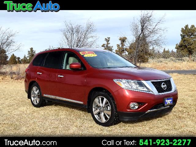 2013 Nissan Pathfinder S PLATINUM EDITION ONE OWNER THIRD ROW