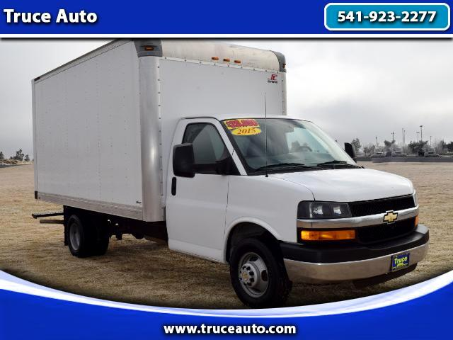 2015 Chevrolet Express G3500 159''WB 14ft Box Truck ONE OWNER LOW MILES