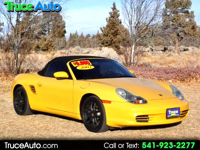 2003 Porsche Boxster 2dr Roadster LOW MILE