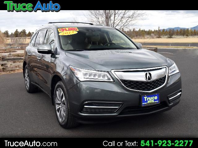 2015 Acura MDX SH-AWD 6-Spd AT w/Tech Package ONE OWNER LOW MILE