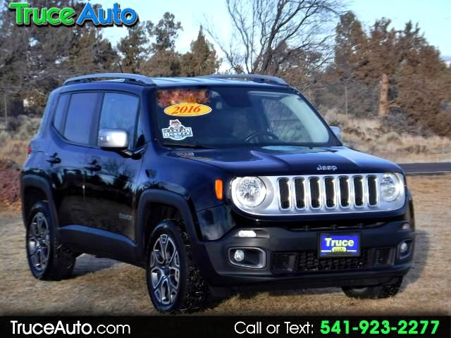 2016 Jeep Renegade 4WD 4dr Limited ONE OWNER