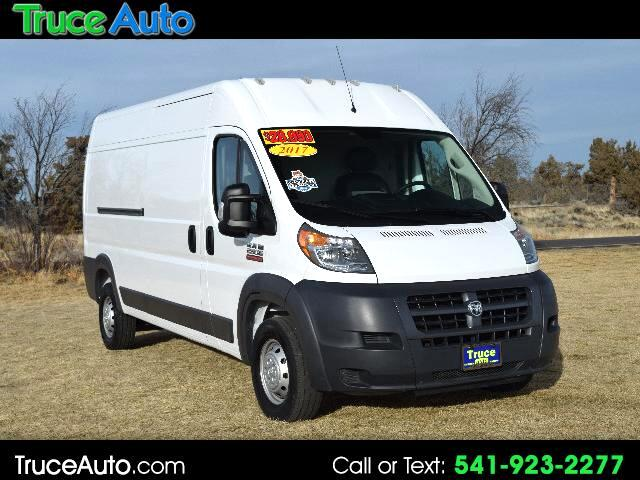 2017 RAM Promaster 2500 High Roof Tradesman 159-in. WB ONE OWNER