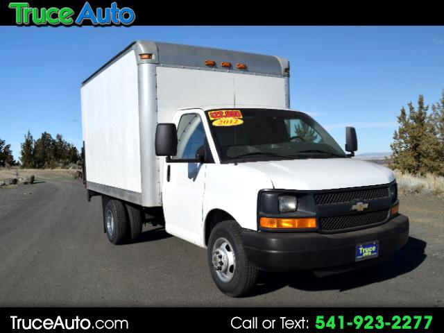 2012 Chevrolet Express G3500 12' BOX TRUCK ***ONE OWNER***