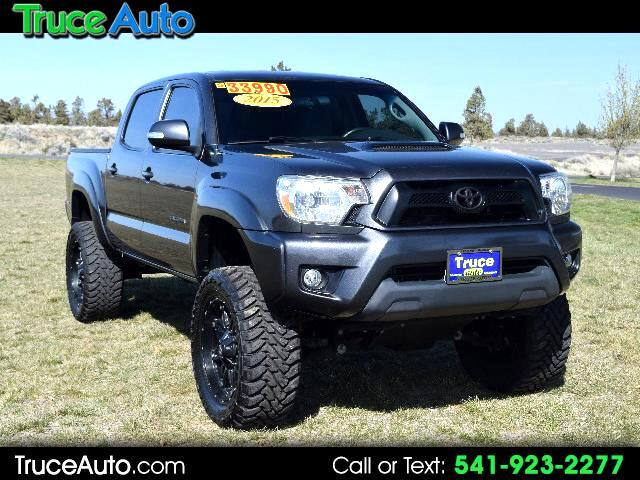 2015 Toyota Tacoma TRD Sport Double Cab Short Bed LOW MILE LIFTED