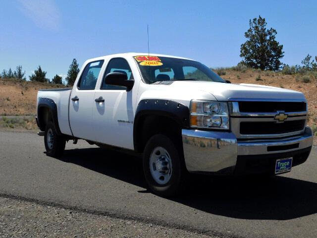 2008 Chevrolet Silverado 2500HD Crew Cab Short Bed 4WD WORK TRUCK