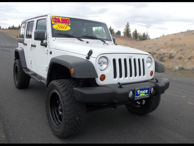 2011 Jeep Wrangler Unlimited Sport 4WD LOW MILES