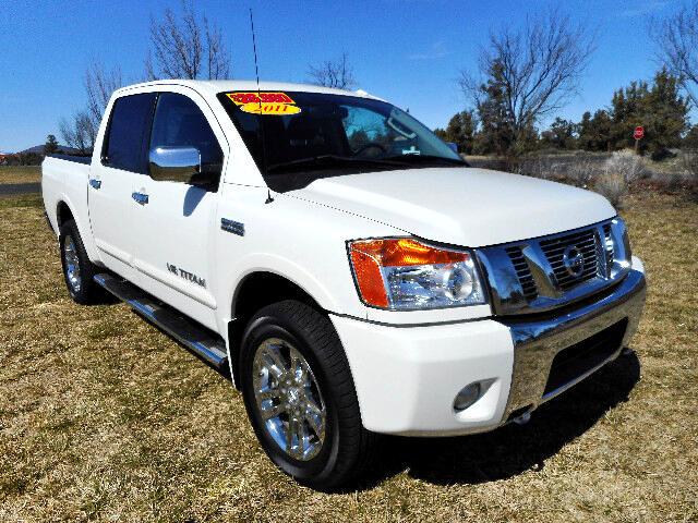 2011 Nissan Titan S Crew Cab 4WD LOW MILES