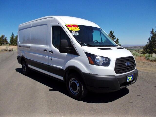 """2016 Ford Transit 250 Cargo Van Med. Roof w/Sliding RH Door 148"""" WB"""