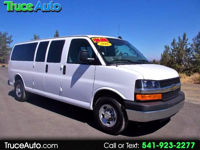 2016 Chevrolet Express LT 3500 EXT 15 PASSENGER ONE OWNER