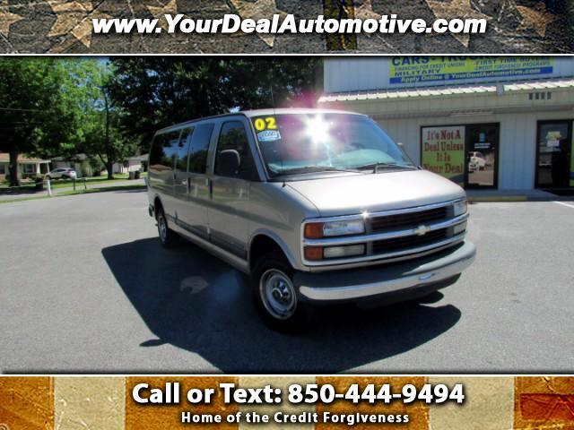 "2002 Chevrolet Express Passenger RWD 3500 155"" LT w/1LT"