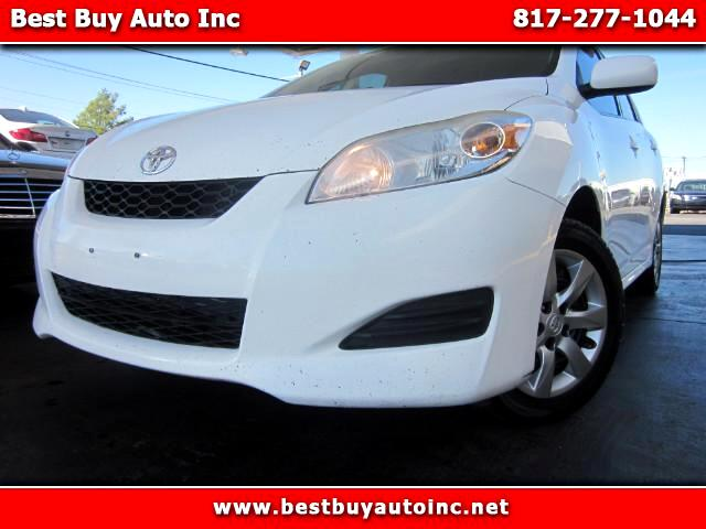 2011 Toyota Matrix Base 5-Speed MT