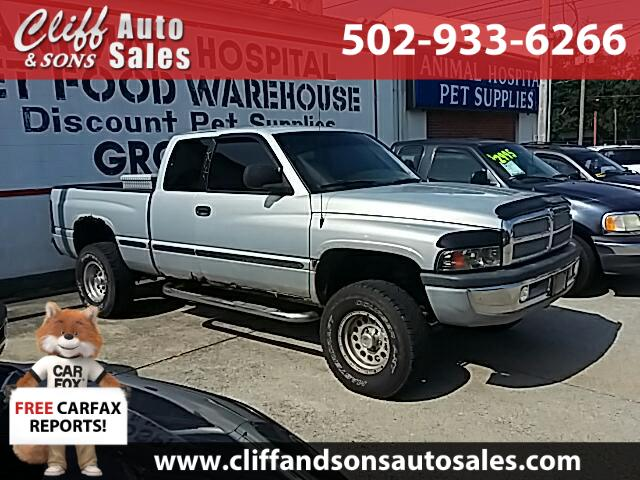 1999 Dodge Ram 1500 Club Cab Long Bed 4WD