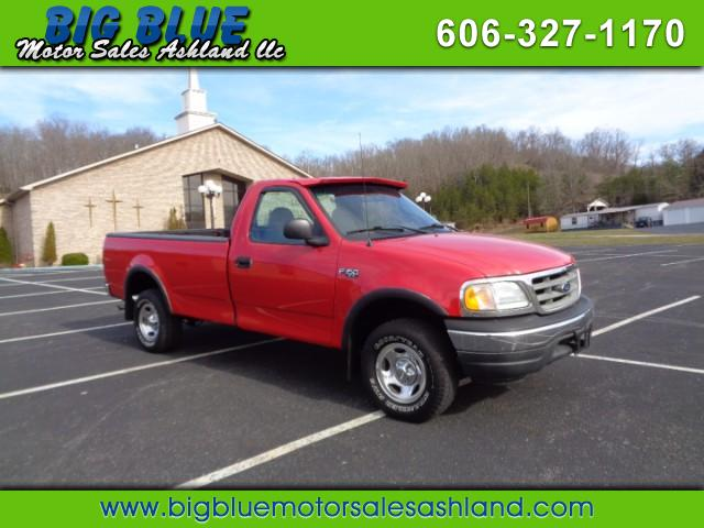 2001 Ford F-150 Reg. Cab Long Bed 4WD