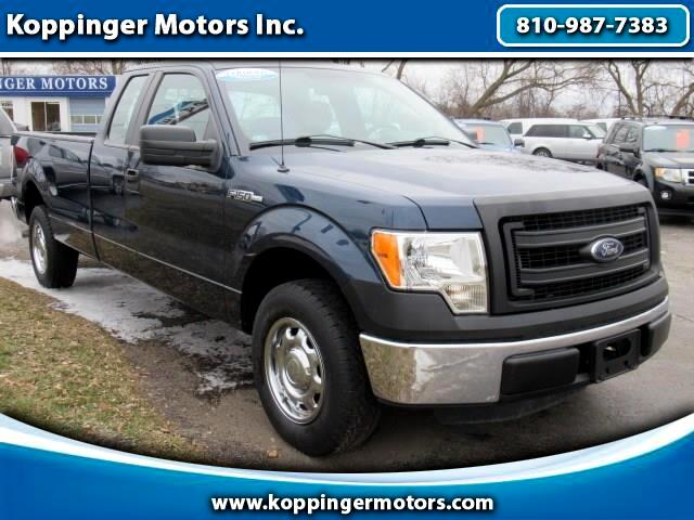 "2013 Ford F-150 2WD SuperCab 163"" XL w/HD Payload Pkg"