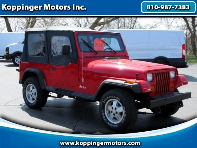 1994 Jeep Wrangler 2 Door