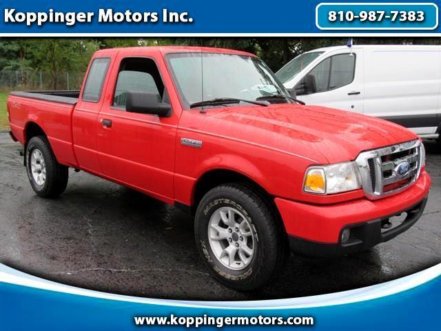 """2007 Ford Ranger 4WD 2dr SuperCab 126"""" XLT"""