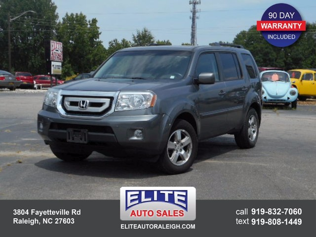 2011 Honda Pilot EX-L 4WD 5-Spd AT with Navigation