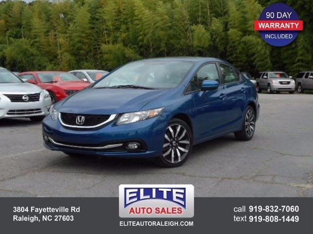2014 Honda Civic EX-L Sedan CVT