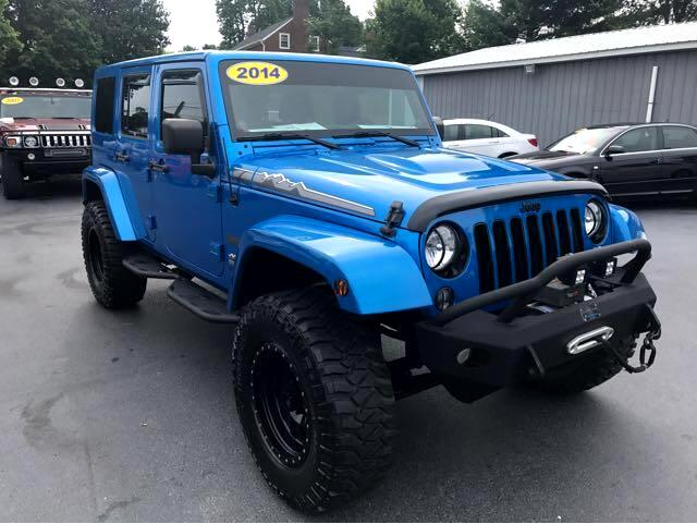 2014 Jeep Wrangler Unlimited Rocky Ridge Polar Conversion