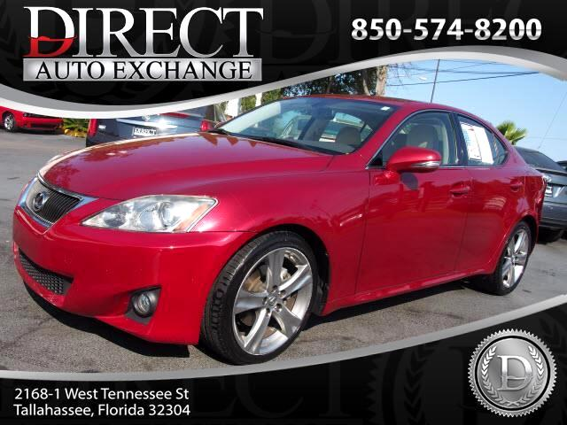 2012 Lexus IS 250 RWD Manual