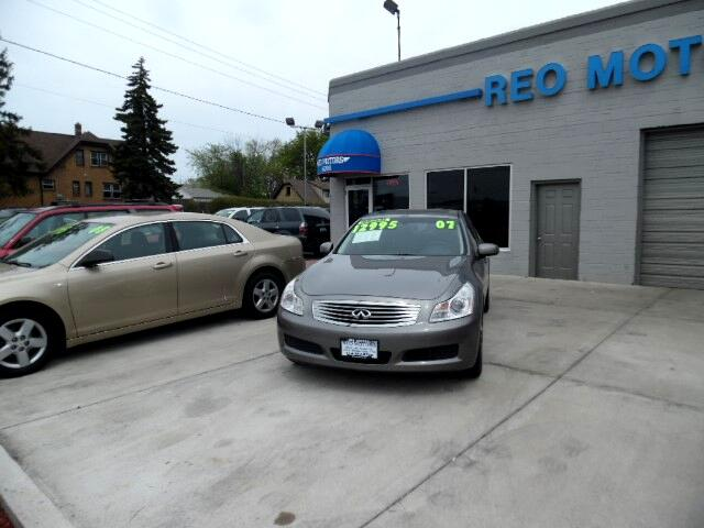 Used 2007 Infiniti G35 For Sale In Milwaukee Wi 53215 Reo