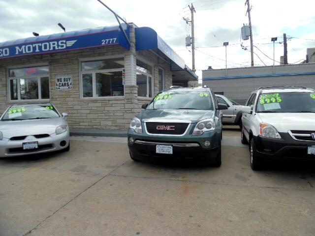 Used 2009 Gmc Acadia For Sale In Milwaukee Wi 53215 Reo Motors