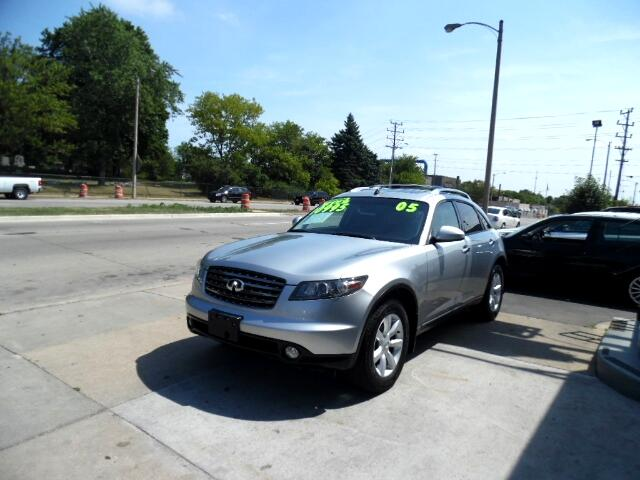 Used 2005 Infiniti Fx For Sale In Milwaukee Wi 53215 Reo
